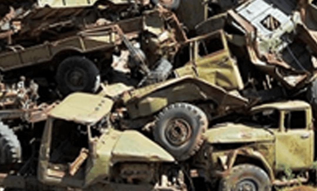 Detecting Explosive Material in Military Scrap Metal