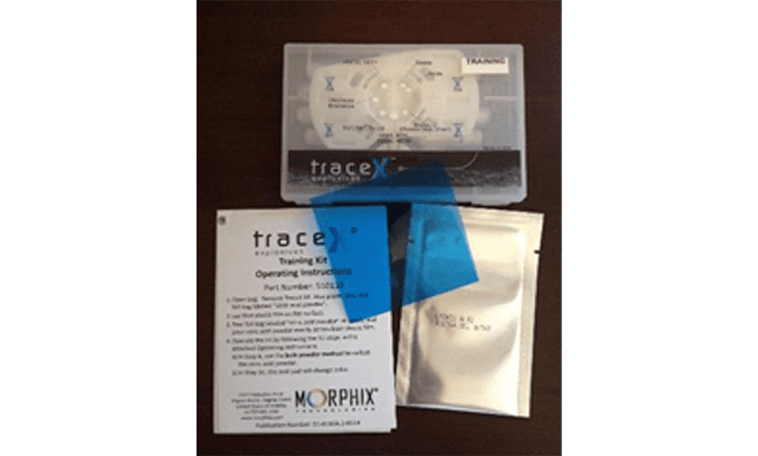 TraceX Explosive Detection Training Kit